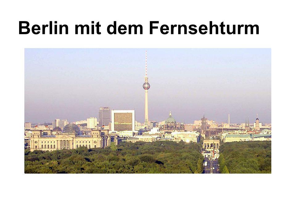 Berlin mit dem Fernsehturm