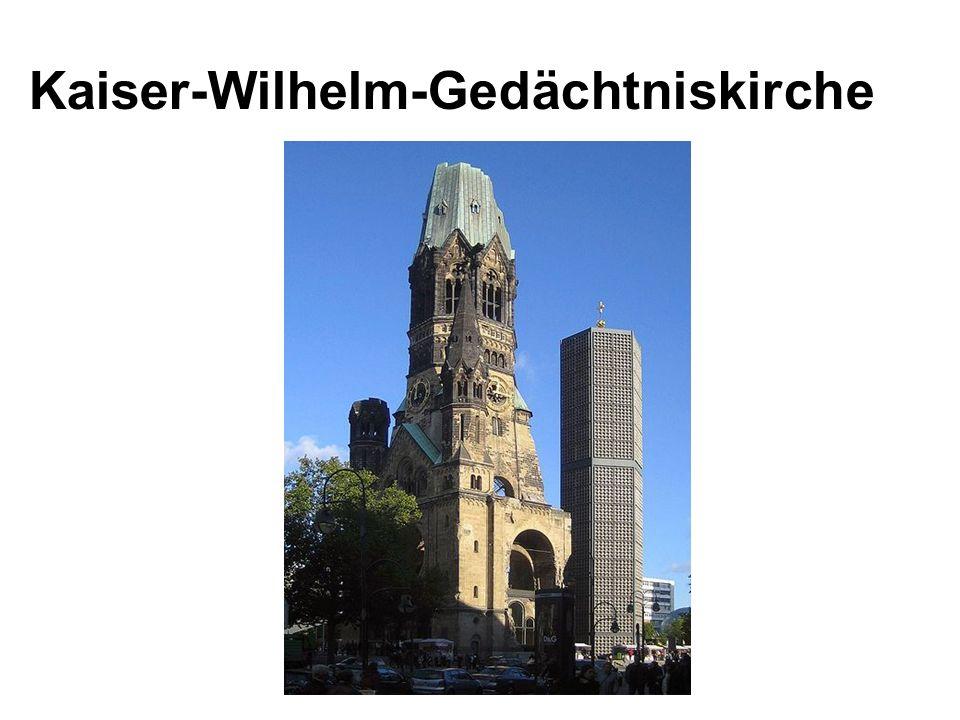 Kaiser-Wilhelm-Gedächtniskirche