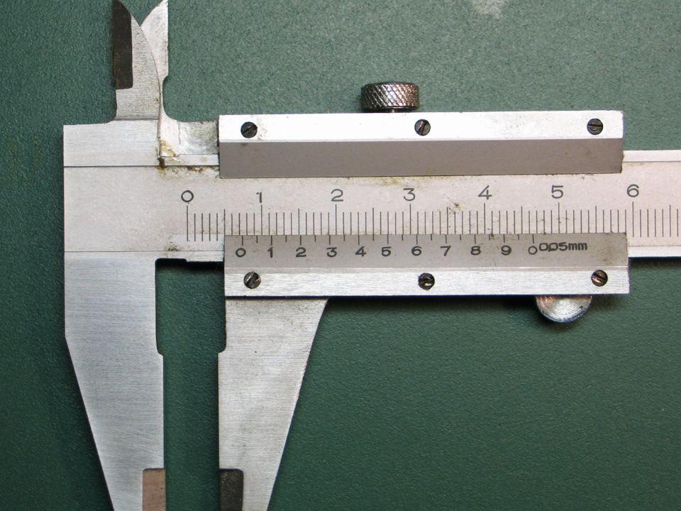 Schieblehre Messung