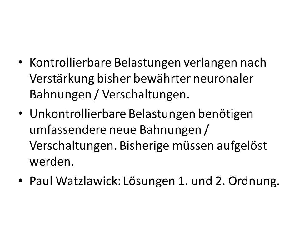 Spitzer M: Neuronale Netzwerke und Psychotherapie, 2003: Neuroplastizität, Dopamin und die «besser als erwartet Situation».