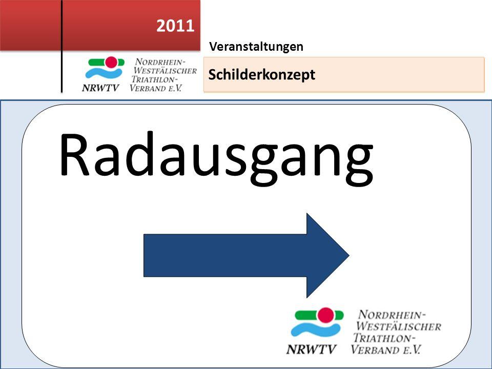 2011 Veranstaltungen Einsatzleiterweiterbildung Radausgang Schilderkonzept