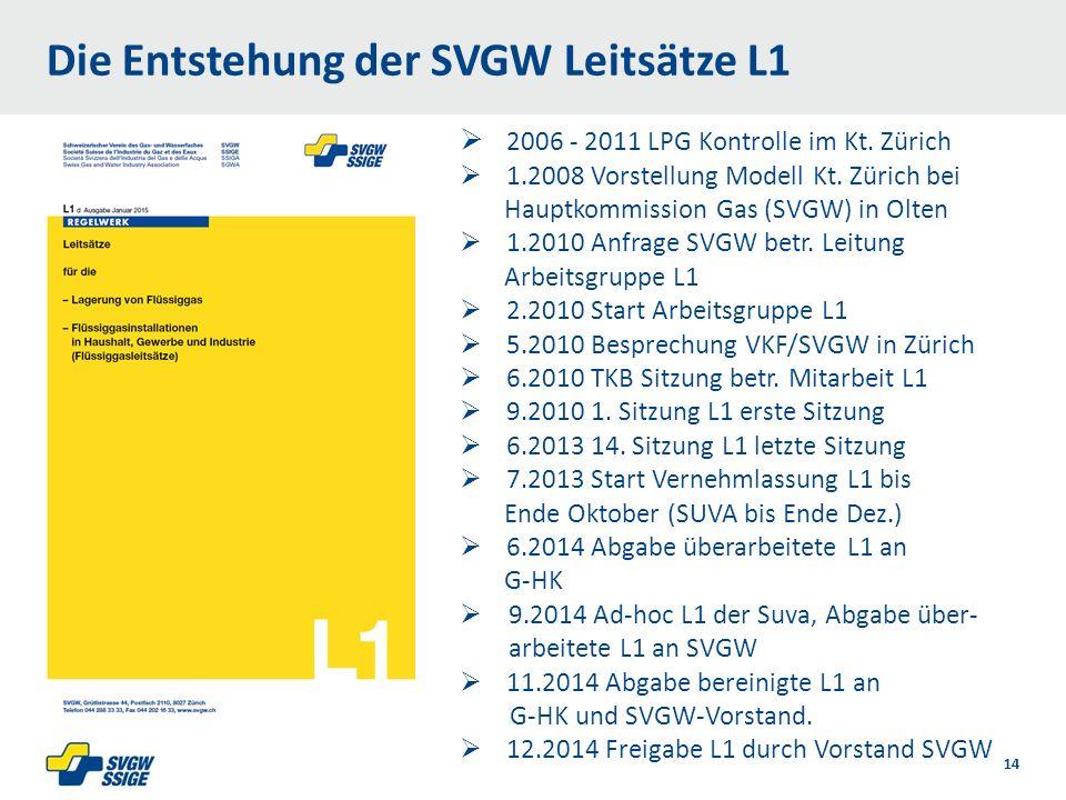  2006 - 2011 LPG Kontrolle im Kt. Zürich  1.2008 Vorstellung Modell Kt.