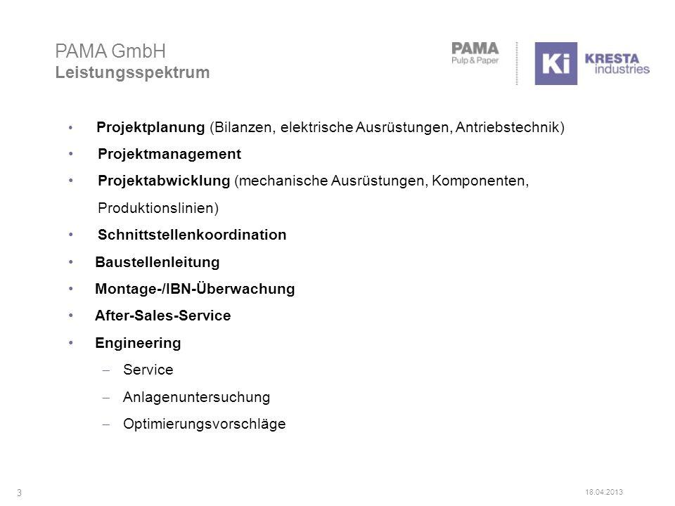 Projektplanung (Bilanzen, elektrische Ausrüstungen, Antriebstechnik) Projektmanagement Projektabwicklung (mechanische Ausrüstungen, Komponenten, Produ