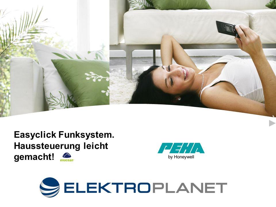 Easyclick Funksystem. Haussteuerung leicht gemacht!