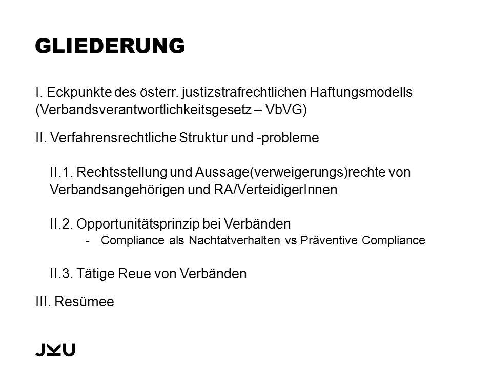 I.ECKPUNKTE HAFTUNGSMODELL Strafrechtsmodell Zurechnungslösung mit tw.