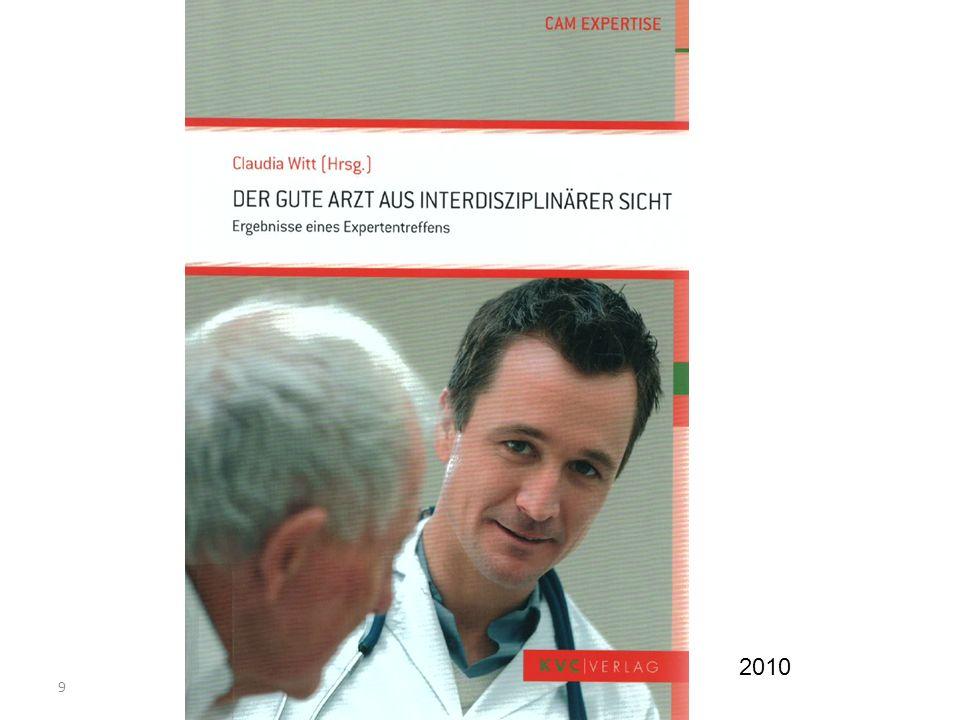 20 Wissenschaftliche Experten Information (Wissen), Fähigkeiten (Können) Sozialisierung, Werte (Haltung) ärztliche Berufsfachleute Lancet 2010