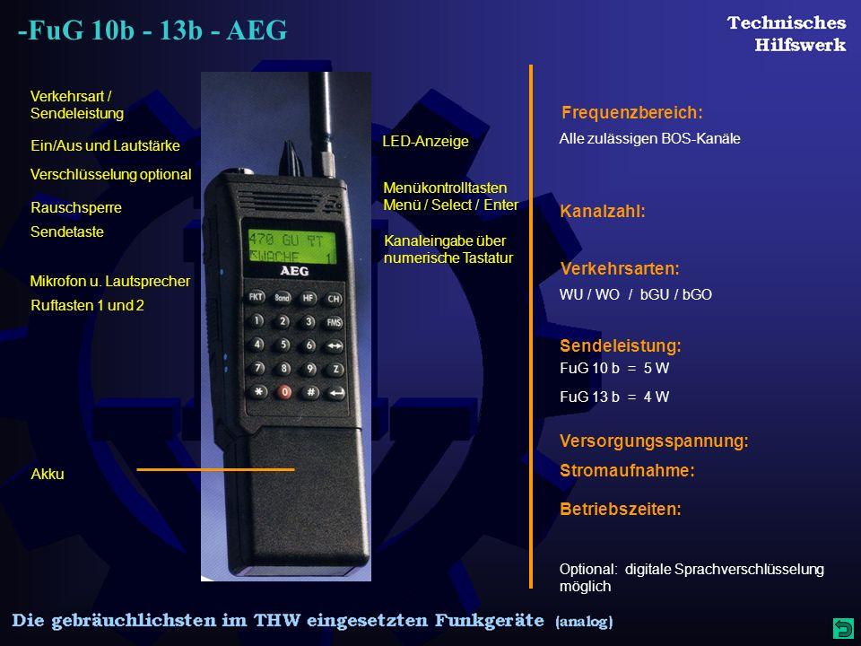 -FuG 10b - 13b - AEG Mikrofon u.