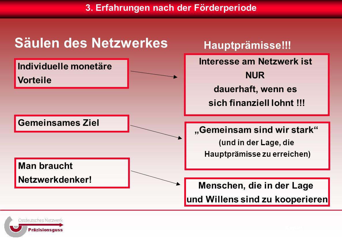 Säulen des Netzwerkes 3.
