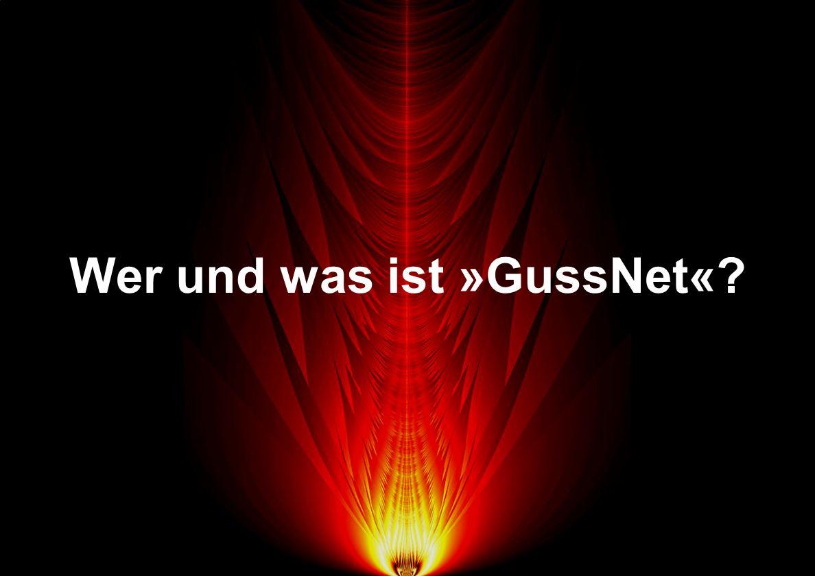 Wer und was ist »GussNet«