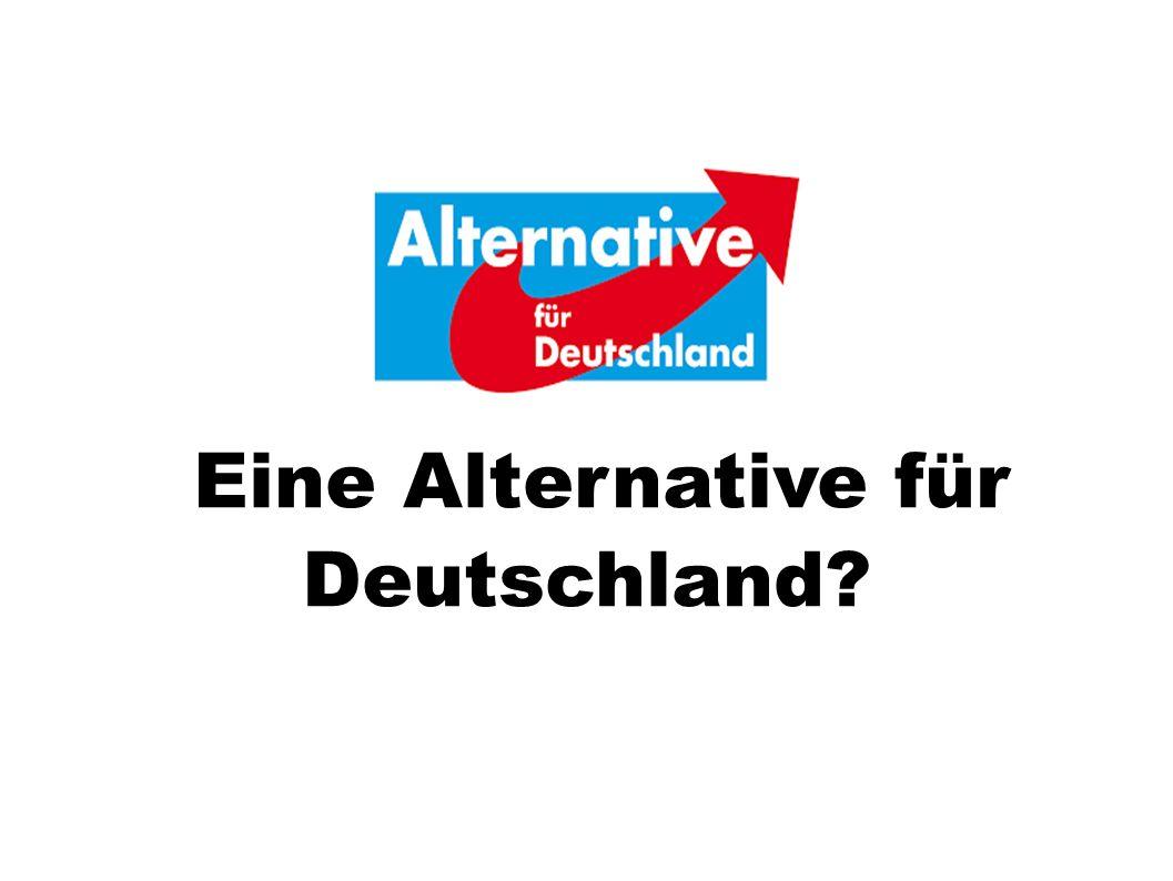 Eine Alternative für Deutschland