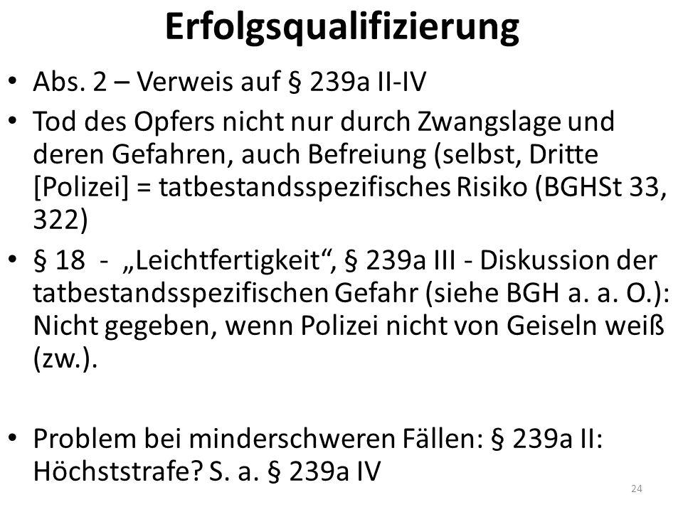 Erfolgsqualifizierung Abs.