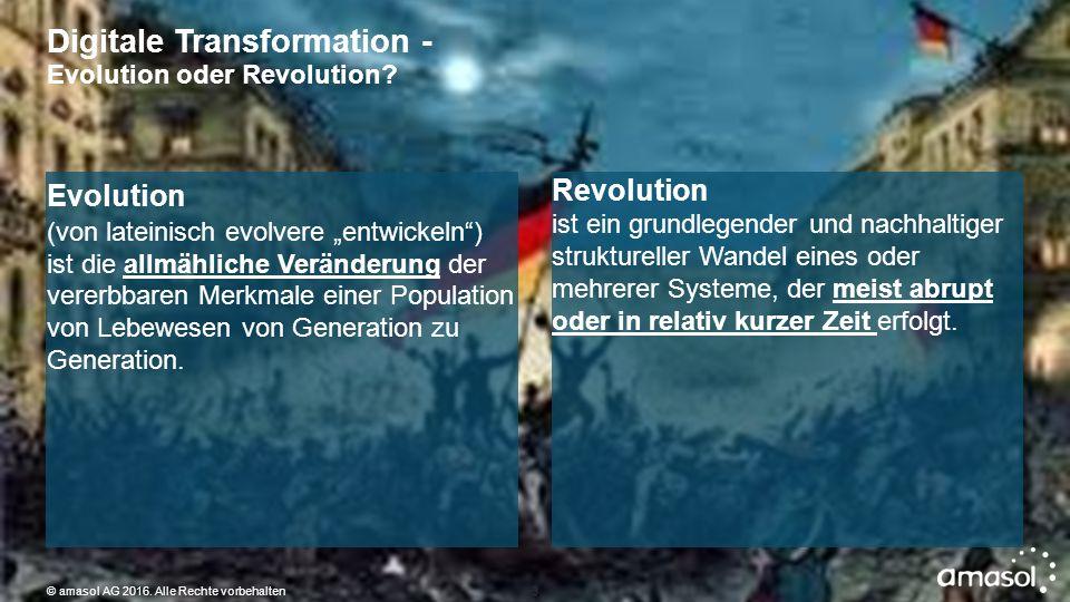 Revolution der Musikindustrie 100 Jahre Evolution – 16 Jahre Revolution © amasol AG 2016.