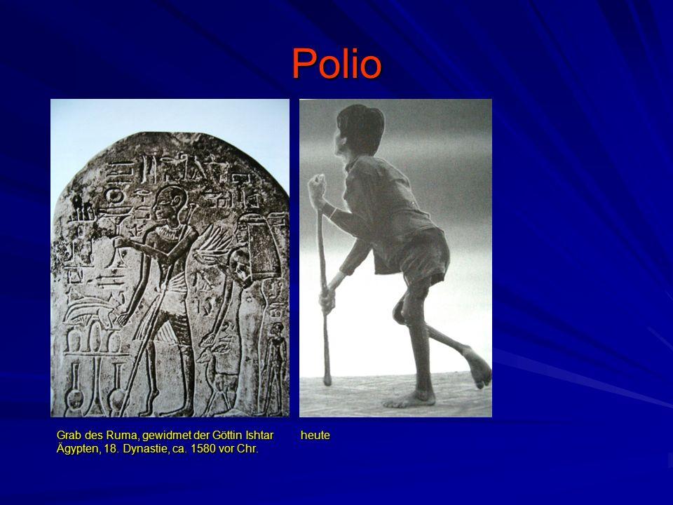 Polio Grab des Ruma, gewidmet der Göttin Ishtar Ägypten, 18. Dynastie, ca. 1580 vor Chr. heute
