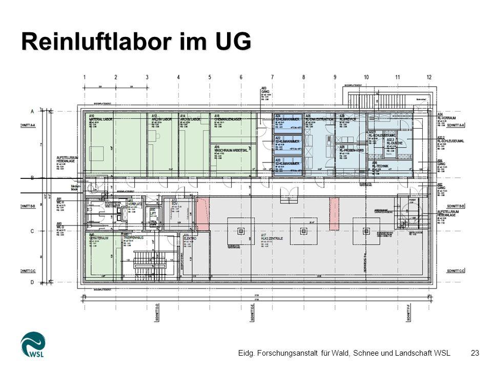 Reinluftlabor im UG Eidg. Forschungsanstalt für Wald, Schnee und Landschaft WSL23