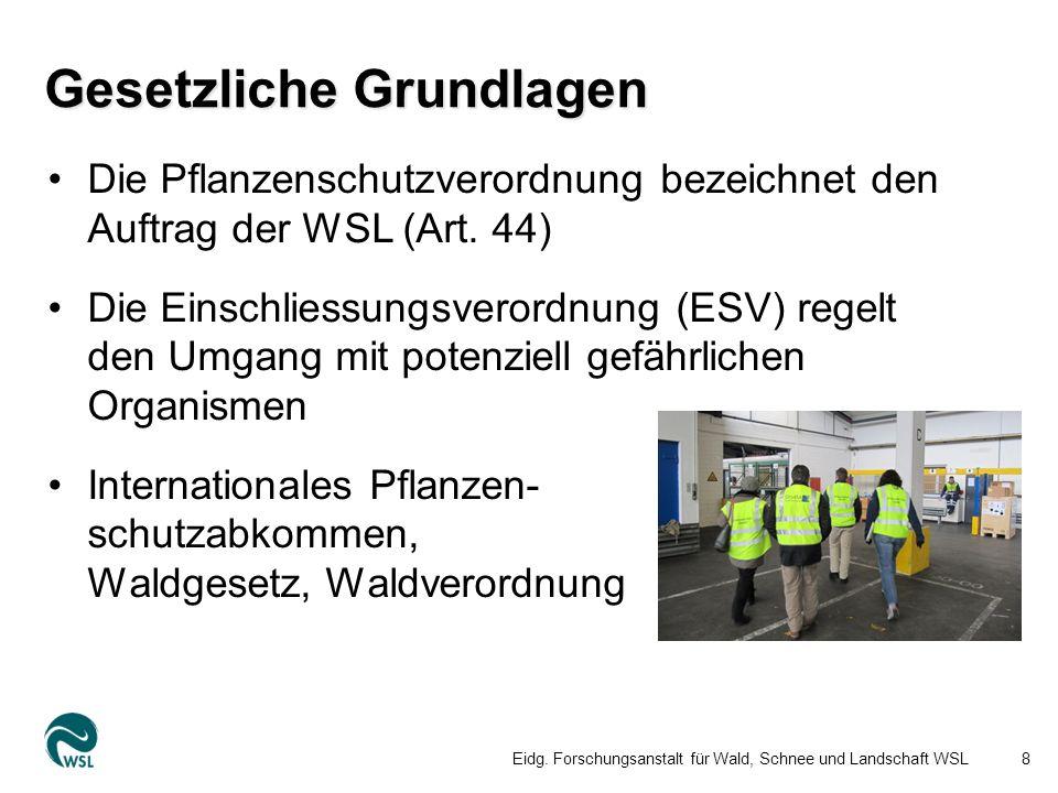 Fassaden Süd und Ost Eidg. Forschungsanstalt für Wald, Schnee und Landschaft WSL19