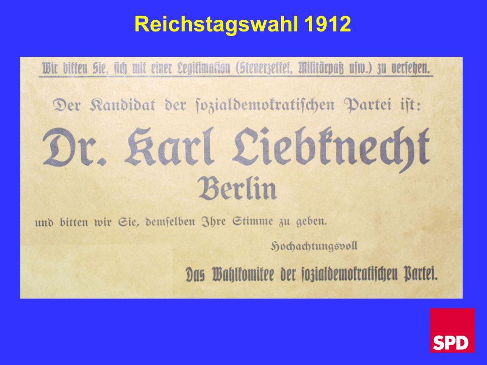 Reichstagswahl 1912