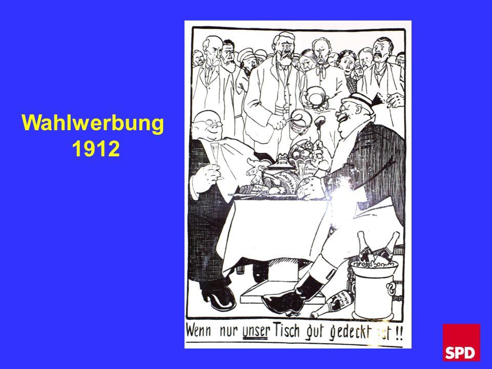 Wahlwerbung 1912
