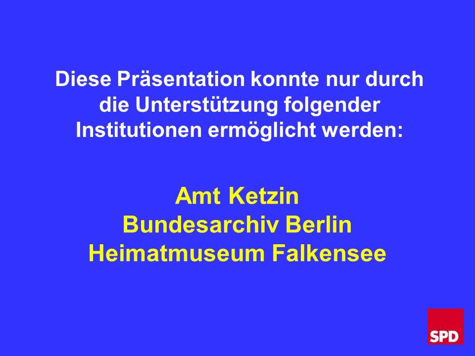 Nauen 26.April 1904 Falkenhagen u.Seegefeld 8.Januar 1908 Ketzin 1.