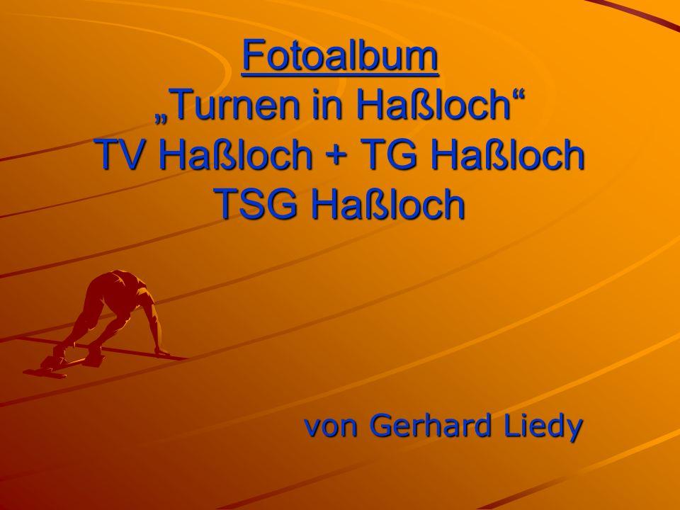 """Fotoalbum """"Turnen in Haßloch TV Haßloch + TG Haßloch TSG Haßloch von Gerhard Liedy"""