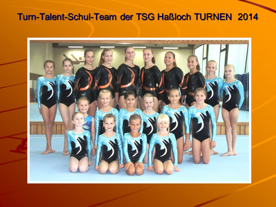 Turn-Talent-Schul-Team der TSG Haßloch TURNEN 2014