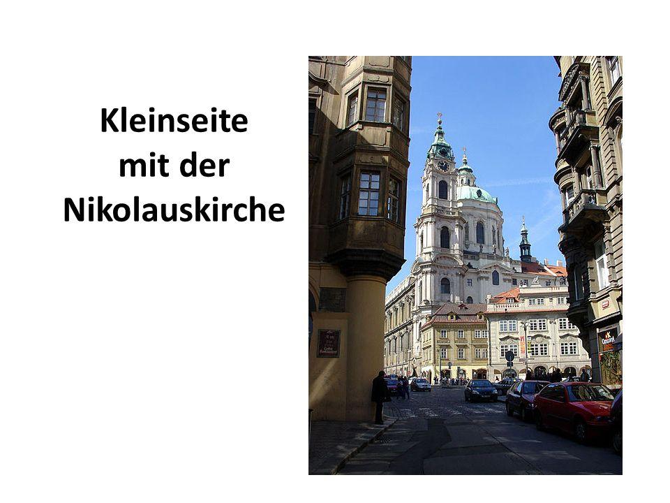 Kleinseite mit der Nikolauskirche