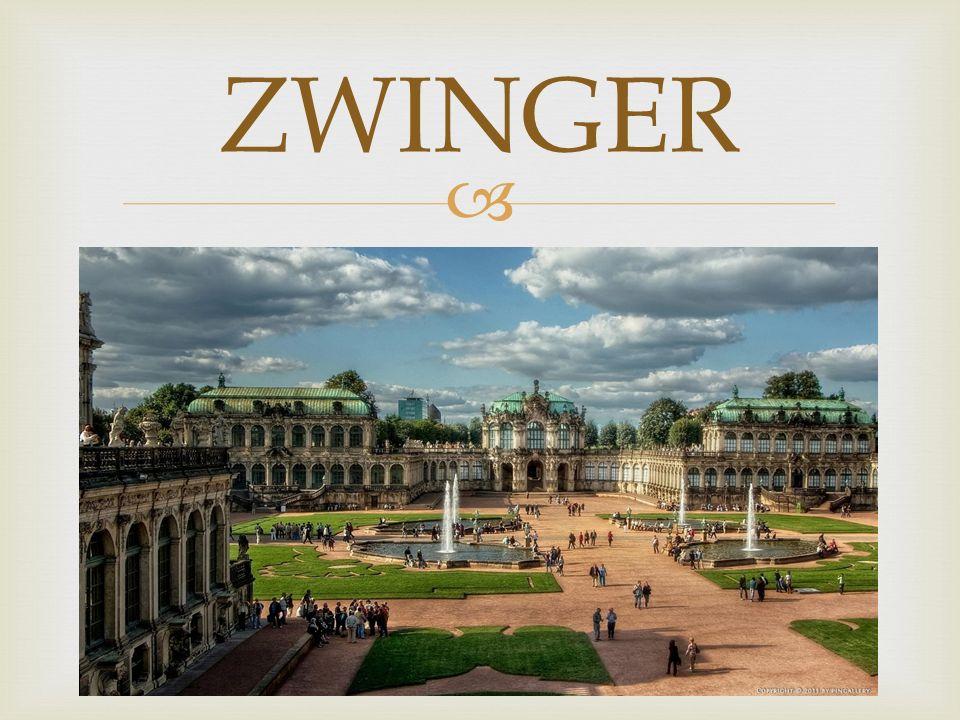 Zwinger Eine Hauptsehenswürdigkeit von Dresden ist ohne Frage der mächtige, im Barockstil gehaltene Zwinger.