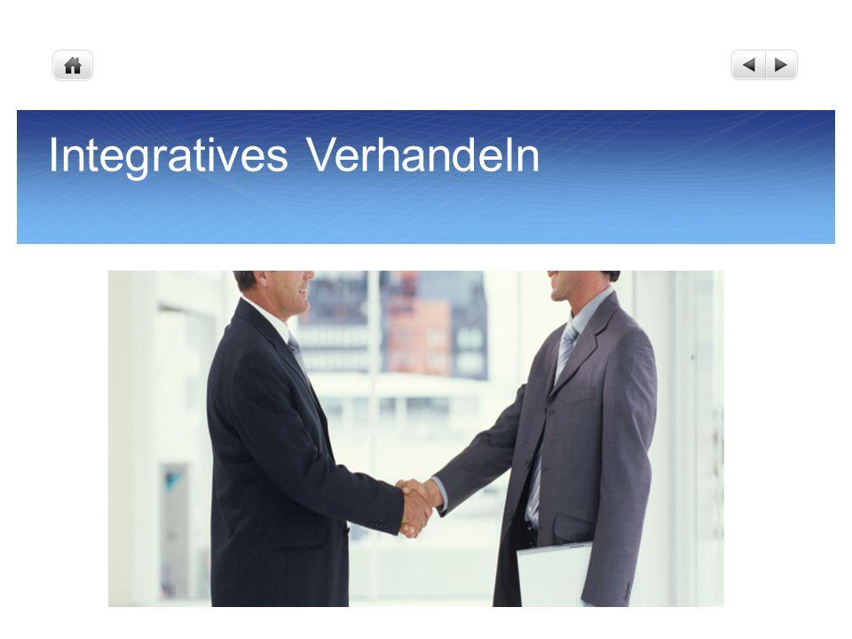 Integratives Verhandeln