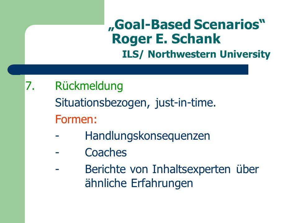 """""""Goal-Based Scenarios Roger E."""