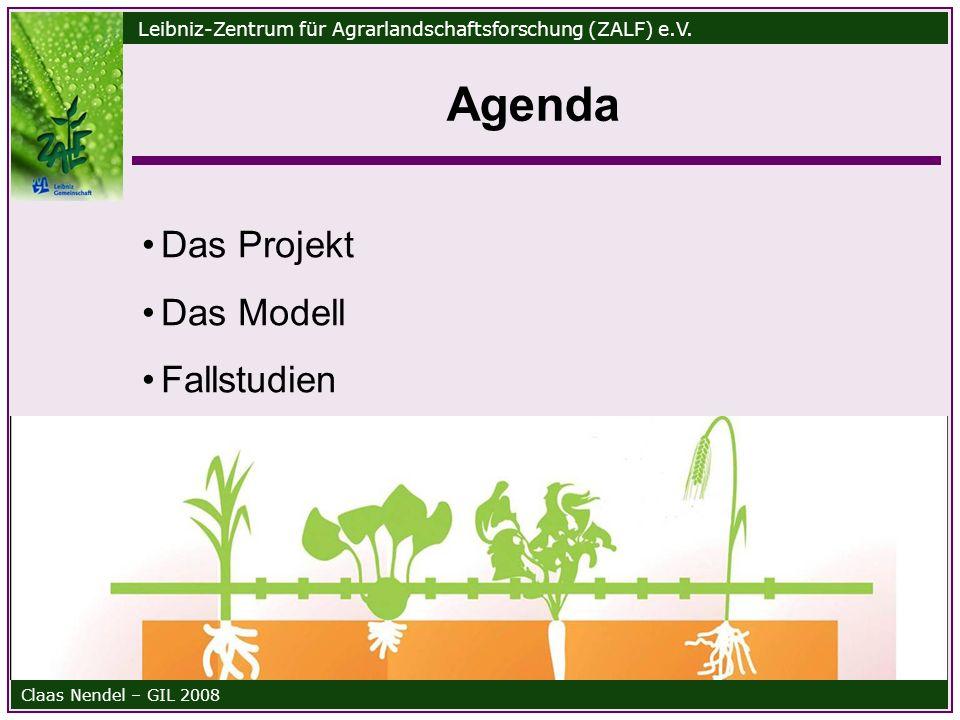 Leibniz-Zentrum für Agrarlandschaftsforschung (ZALF) e.V.