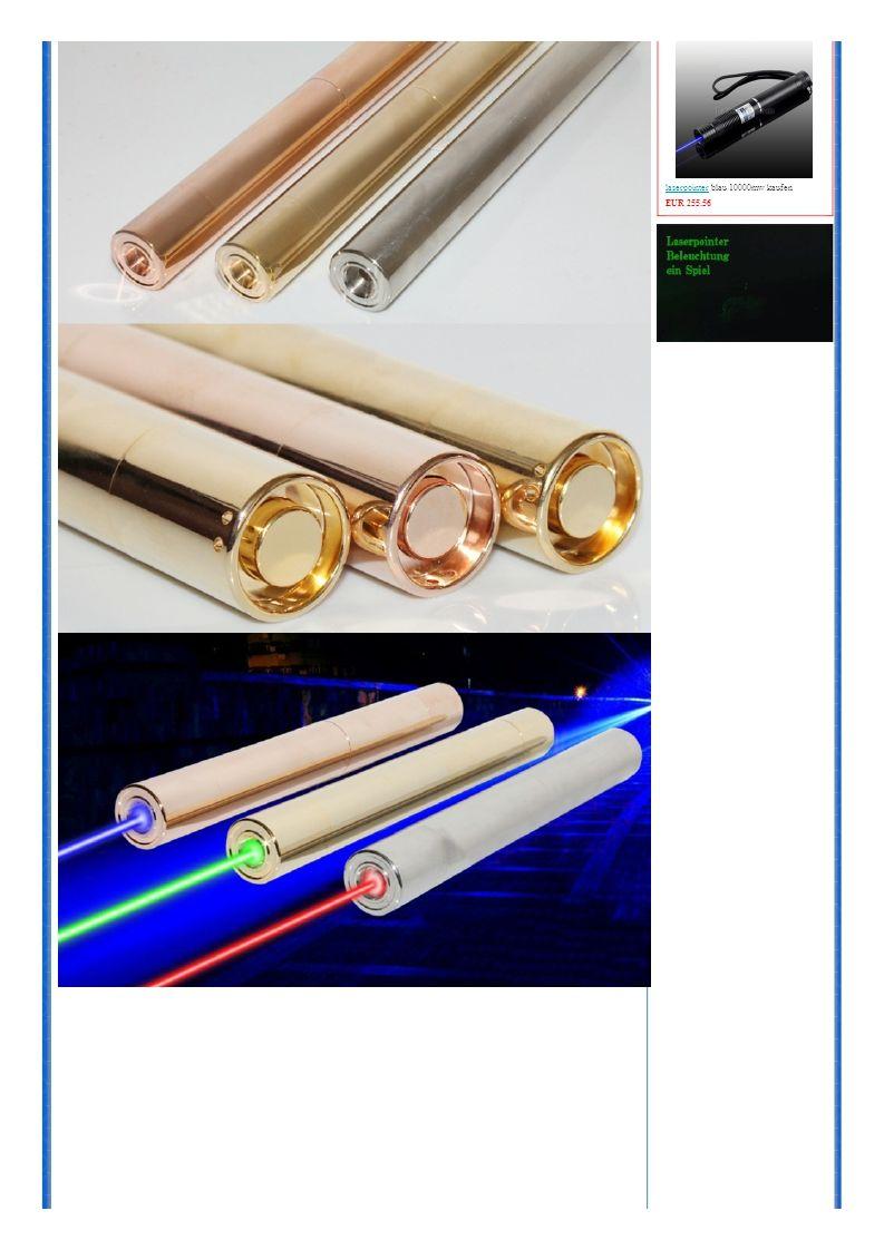 laserpointerlaserpointer blau 10000mw kaufen EUR 255.56