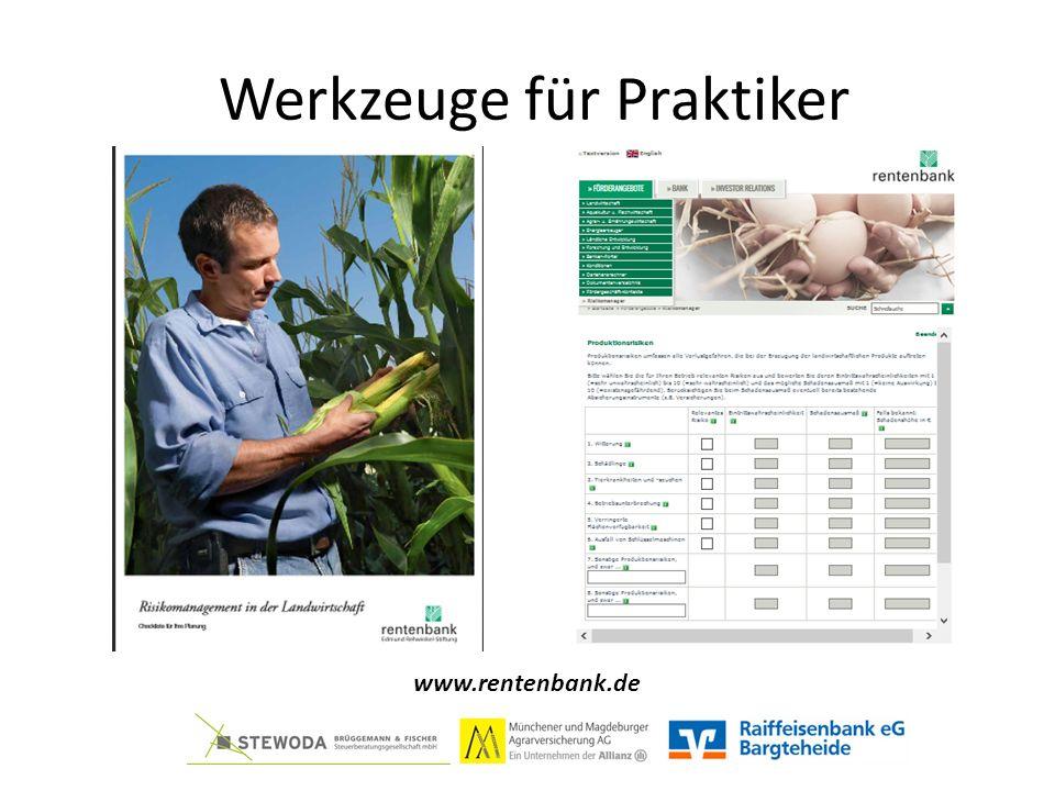 Werkzeuge für Praktiker www.rentenbank.de