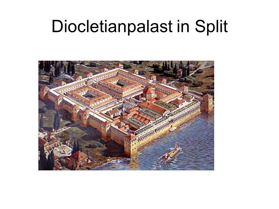 Diocletianpalast in Split