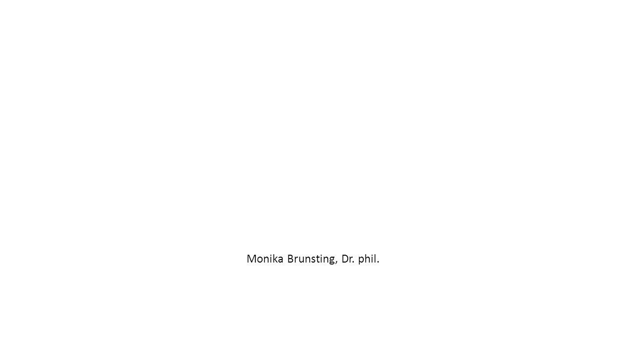 Monika Brunsting, Dr. phil.