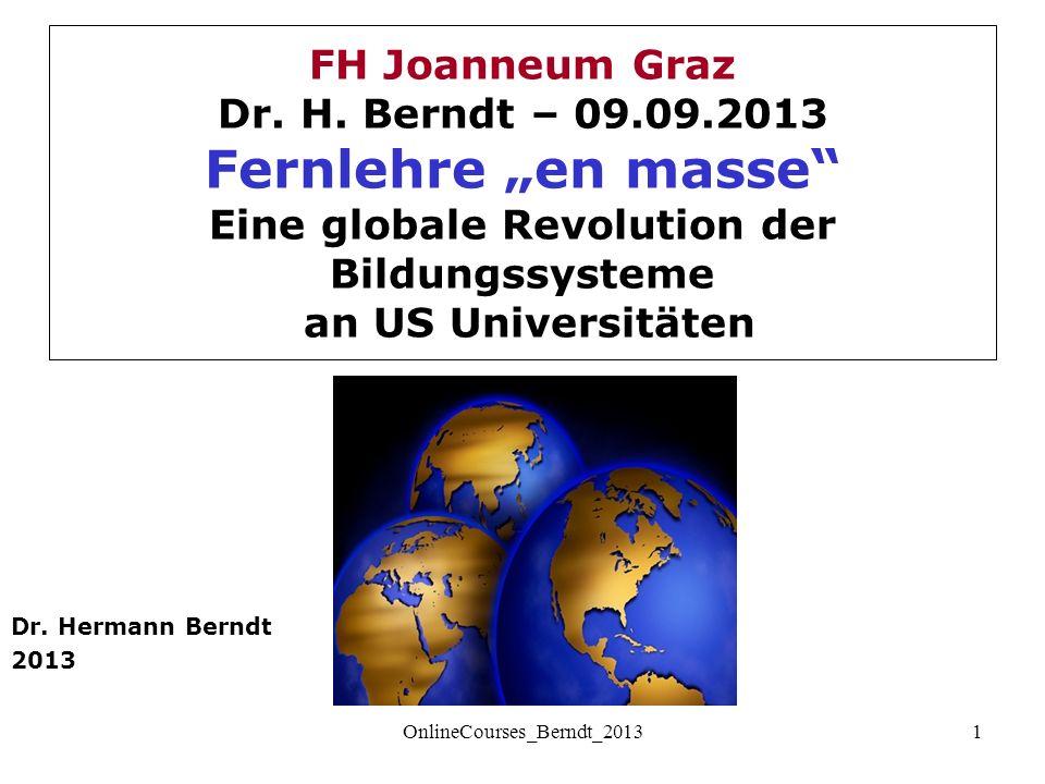 FH Joanneum Graz Dr. H.
