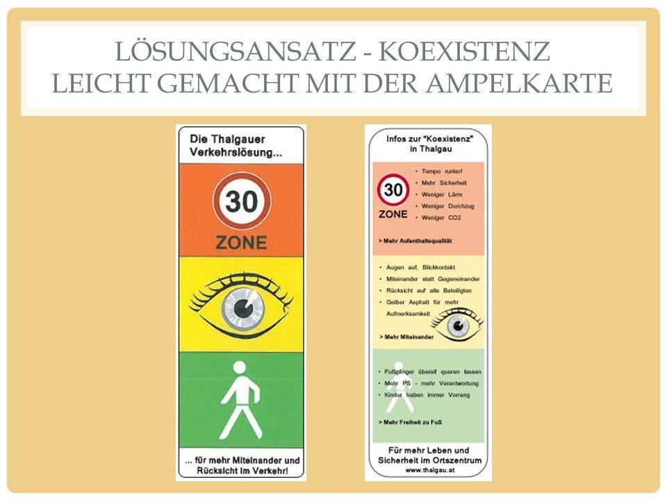 LÖSUNGSANSATZ - KOEXISTENZ LEICHT GEMACHT MIT DER AMPELKARTE