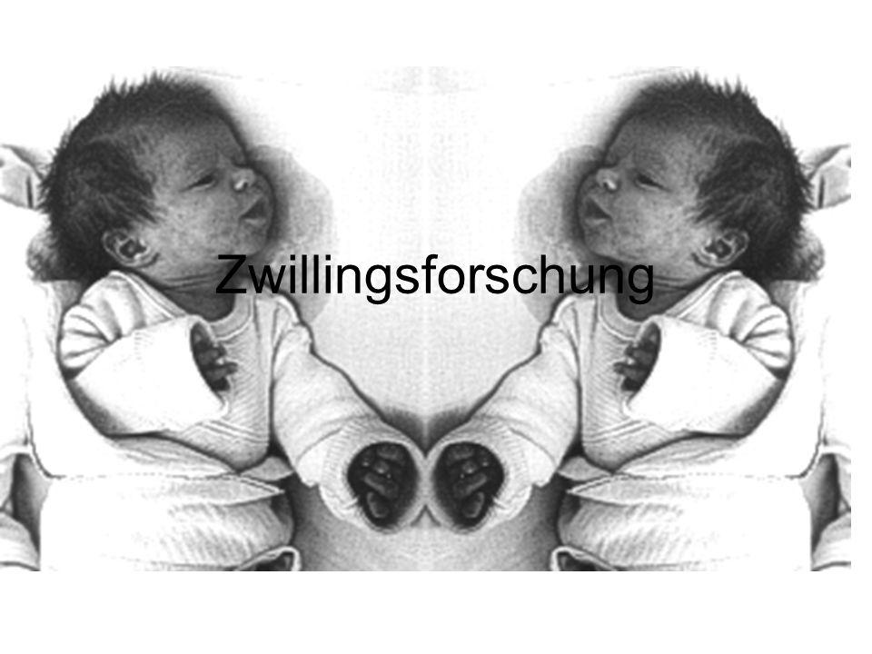 Entstehung eineiiger Zwillinge Erste Teilung nach 24h Zwillinge in jeweils einer eigenen Fruchtblase (Amnion) mit eigener Plazenta (Mutterkuchen)  Plazenten können auch zu einer großen verschmelzen Spaltet sich in 2 gleiche Teile  Entstehung der beiden Embryos Haben denselben Chromosomenbestand/gleiches Erbgut Grund: dieselbe Zygote( befruchtete Eizelle)
