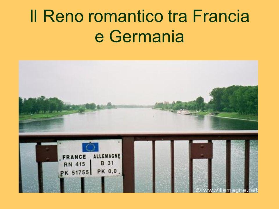 Il Reno romantico tra Francia e Germania