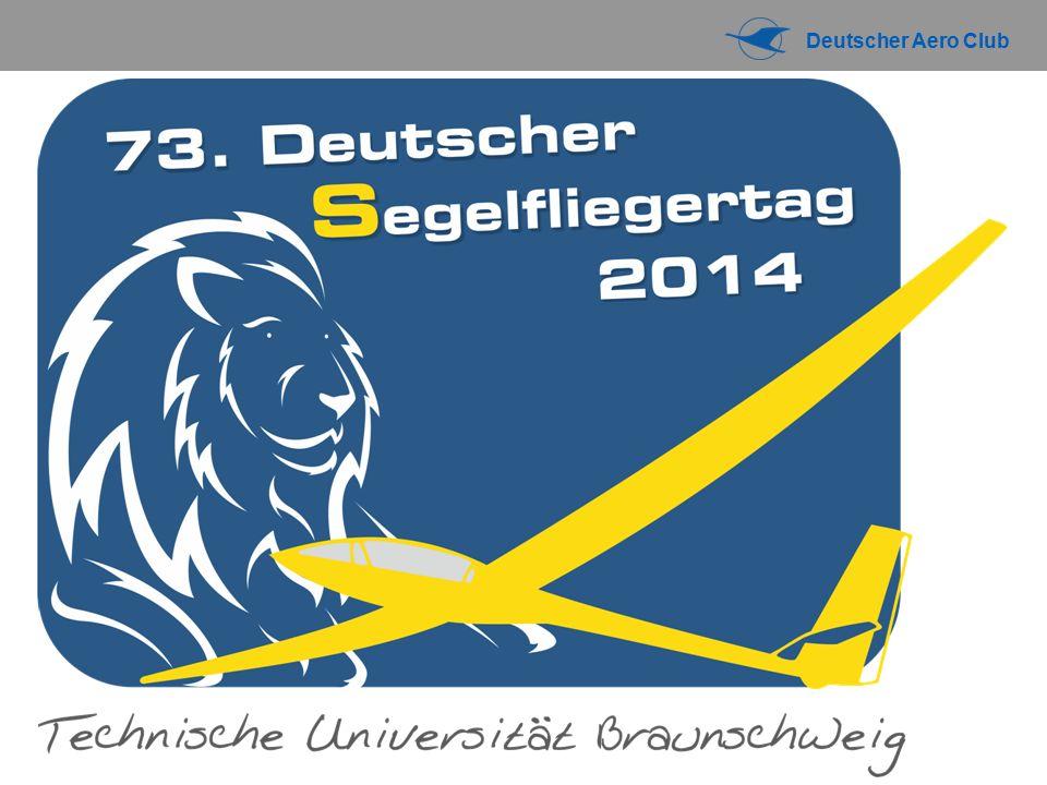 Luftraum und Flugbetrieb 73. DEUTSCHER SEGELFLIEGERTAG 2014