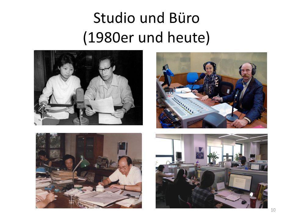 Studio und Büro (1980er und heute) 10