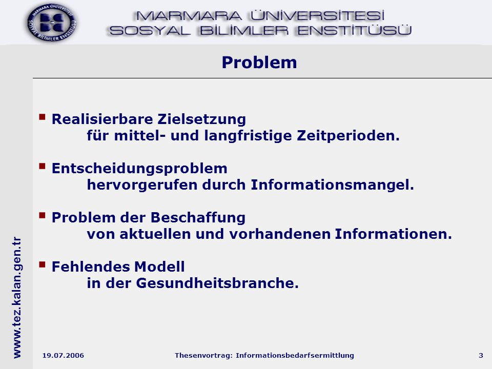 www.tez.kalan.gen.tr 19.07.2006Thesenvortrag: Informationsbedarfsermittlung24 Archetyp für das Verhältnis von BIP – Bevölkerung und Arbeitslosigkeit