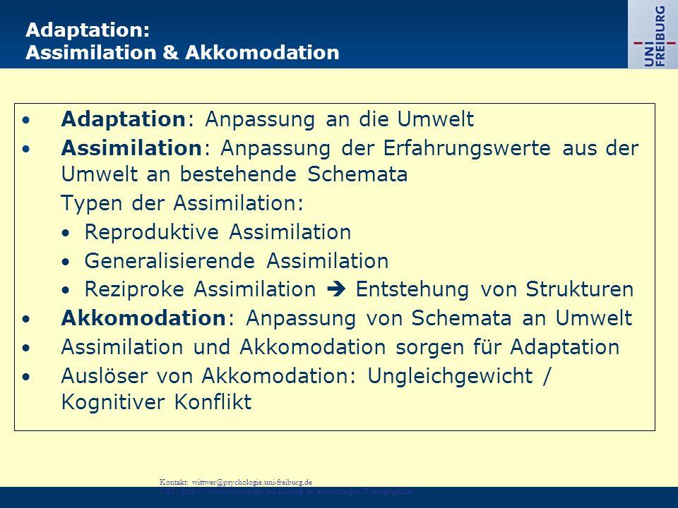 Kontakt: Renkl@psychologie.uni-freiburg.de URL: http://www.psychologie.uni-freiburg.de/einrichtungen/Paedagogische/