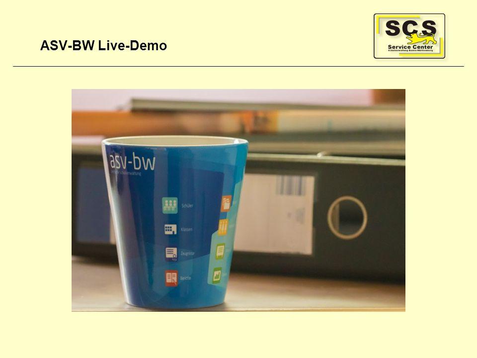 ASV-BW Live-Demo