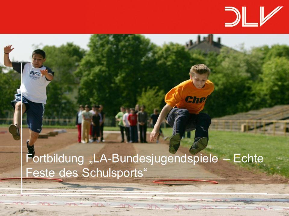 "1 Fortbildung ""LA-Bundesjugendspiele – Echte Feste des Schulsports"