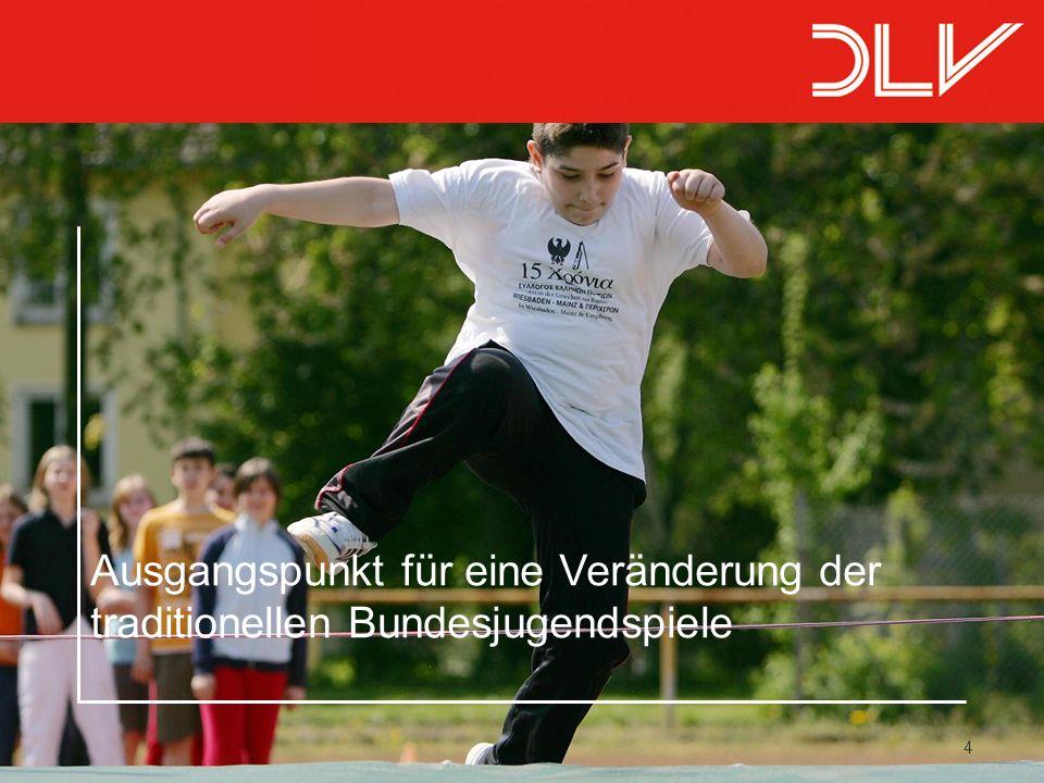 15 Allgemeines Die Bundesjugendspiele existieren seit 1951.