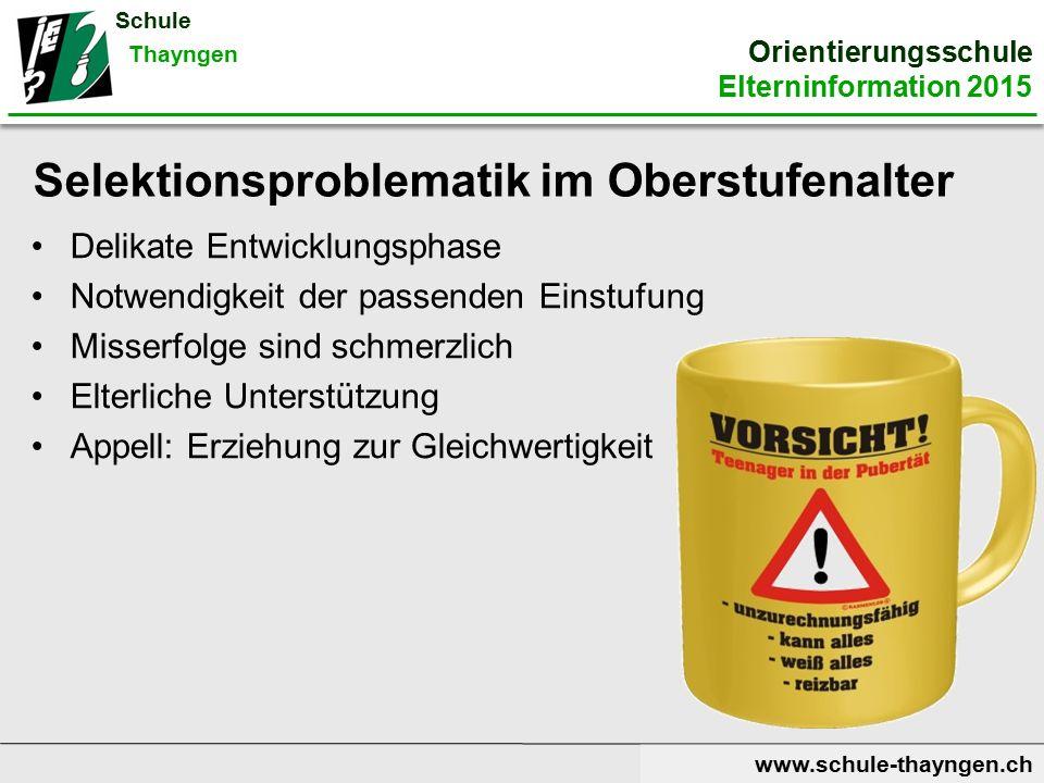 www.schule-thayngen.ch Pflichtlektionen im 7.
