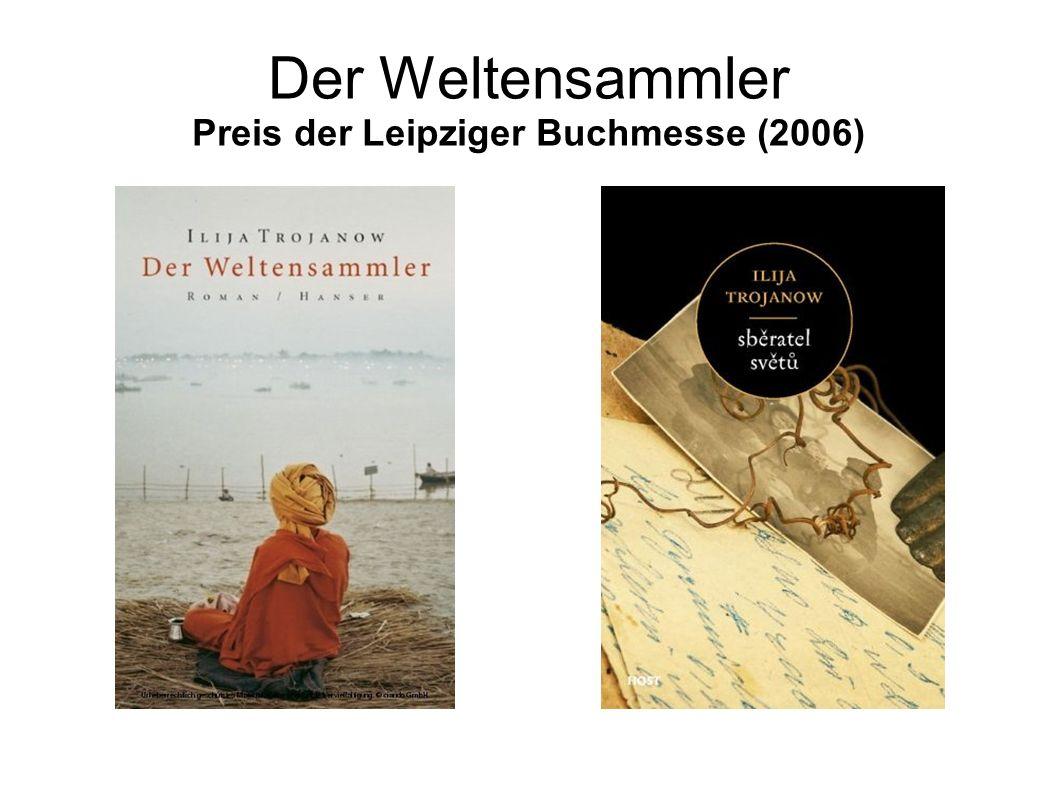 Der Weltensammler Preis der Leipziger Buchmesse (2006)