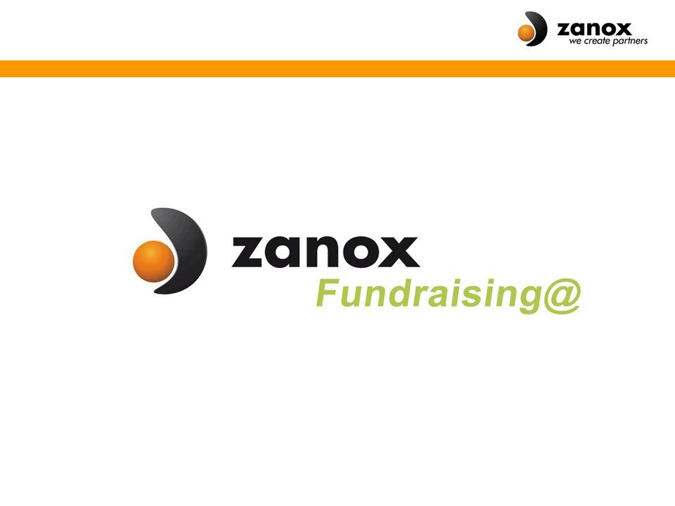 So einfach wie möglich  zanox-Fundraising@ bietet gemeinnützigen Organisationen, Schulen, Vereinen, Gemeinden und Sportclubs die Möglichkeit, Spenden über einen kostenlosen Spenden- Shop zu sammeln.