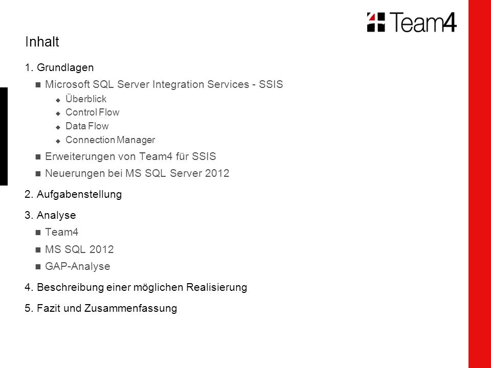 Team4 Log Task for SSIS