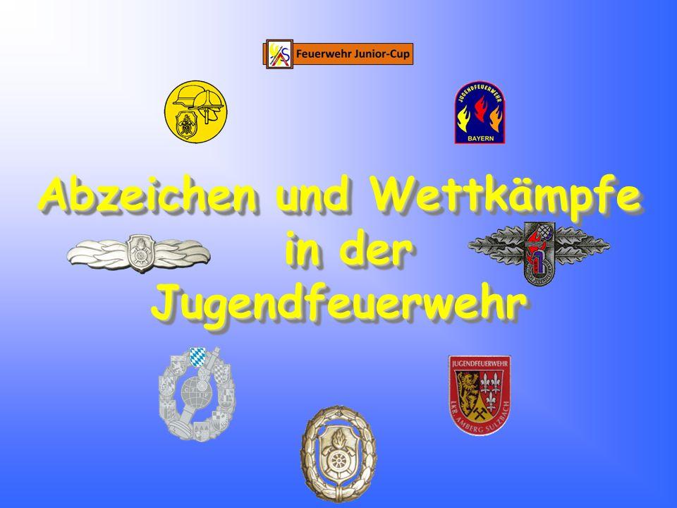 """Bayerisches Leistungsabzeichen Bayerisches Leistungsabzeichen Bronze Beschreibung: Bayerische Leistungsprüfung """"Die Gruppe im Löscheinsatz in Bronze"""