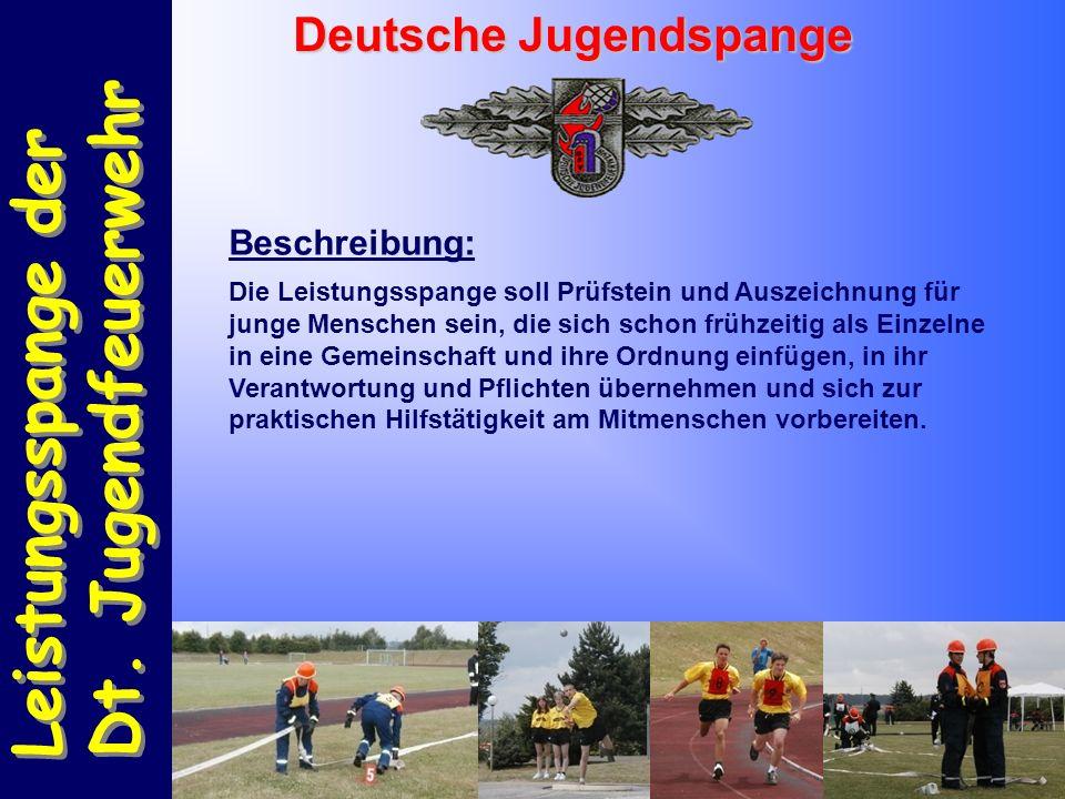 Leistungsspange der Dt. Jugendfeuerwehr Leistungsspange der Dt.